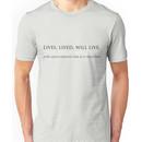 Lutece Grammar Unisex T-Shirt