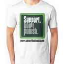 Support Don't Punish (large logo) Unisex T-Shirt