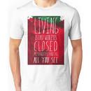 Strawberry Fields Forever - The Beatles - Lyric Poster Unisex T-Shirt