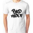 Bad Wolf #2 - Black Unisex T-Shirt