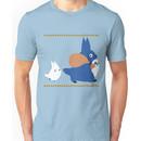chuu and chibi totoro Unisex T-Shirt