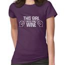 This girl needs some wine Women's T-Shirt