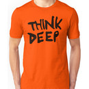 Hitchhiker's Guide to the Galaxy - Think Deep Unisex T-Shirt