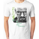 Walter White - Respect the Chemistry  Unisex T-Shirt