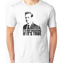Suits Harvey Specter It's Not Bragging Tshirt Unisex T-Shirt