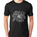 Math tree [dark] Unisex T-Shirt