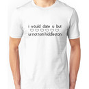 I Would Date You But You're Not Tom Hiddleston Unisex T-Shirt