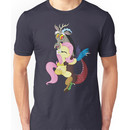 Fluttershy and Discord (My Little Pony: Friendship is Magic) Unisex T-Shirt