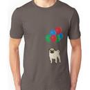 Balloon Pug Unisex T-Shirt