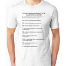 The Ten Commandments of Marching Band Unisex T-Shirt