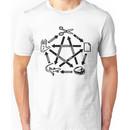 Rock Paper Scissors Lizard Spock T-Shirt Unisex T-Shirt