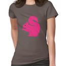 Big Pink Squirrel Women's T-Shirt