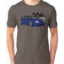 Blue 20th GTI Graphic Unisex T-Shirt