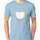 Chipped Tea Cup Unisex T-Shirt