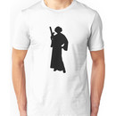 Star Wars Princess Leia Black Unisex T-Shirt
