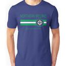 Euro 2016 Football - Northern Ireland (Away Blue) Unisex T-Shirt