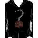 Captain Hook Once Upon A Time Typography Hoodie (Zipper)
