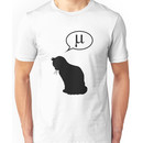 Physics Cat and Friction Coefficient Unisex T-Shirt