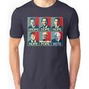 Grope Dope Hope Nope Pope Vote Bernie Unisex T-Shirt