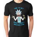 rick and morty, rick, morty, cartoon, funny, wuba, riggity, dab on them folk, cam new Unisex T-Shirt