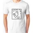 Marc e bassy transparent logo  Unisex T-Shirt