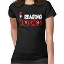 READING ROCKS - READ ACROSS AMERICA DAY Women's T-Shirt