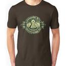 All seeing eye, pyramid, dollar, freemason, god Unisex T-Shirt