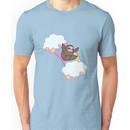 Rainbow Cloud Sloth Unisex T-Shirt