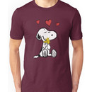 Snoopy sketch Unisex T-Shirt