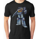 Masterpiece Soundwave (Transparent Background) Unisex T-Shirt