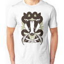 Badgering the snakes in the mushrooms Unisex T-Shirt