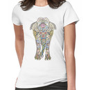 Decorated Elephant Women's T-Shirt