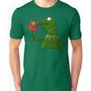 Kermit sipping tea (Redesign) Unisex T-Shirt