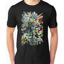 Tubes of Wonder - Abstract Watercolor + Pen Illustration Unisex T-Shirt