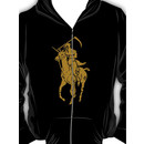 grim reaper polo back Hoodie (Zipper)