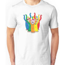 Weird & Wacky Waving Inflatable Arm Flailing Tube Man Unisex T-Shirt
