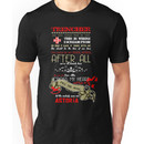 Marianas Trench Tour Shirt Mock (Transparent) Unisex T-Shirt