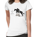 I'd Rather Be Riding! Equestrian T-Shirts & Hoodies Women's T-Shirt