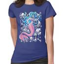 Pink Tailfin Mermaid Women's T-Shirt
