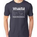 Porsche 911 Turbo Whale Tail Logo Unisex T-Shirt