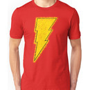 Superhero Spray Paint - Shazam Unisex T-Shirt