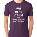 [ Keep Calm ] And Tumble Down the Rabbit Hole Unisex T-Shirt