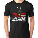 JAPAN CLASSIC RETRO ANIME ROBOT VOLTES V FIVE  Unisex T-Shirt