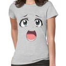 Anime face blue eyes Women's T-Shirt