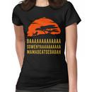BAAAAAAAAAAAAA SOWENYAAAAAAAAAA MAMABEATSEBABAH African Lion T Shirt Women's T-Shirt