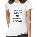 Bobbi Morse - Ask me about my feminist agenda Women's T-Shirt