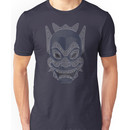 Ornate Blue Spirit Mask Unisex T-Shirt