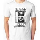 Heeere's Johnny - HALO Spartan 117 Unisex T-Shirt