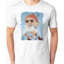 Bill Murray as Steve Zissou Illustrated Portrait Unisex T-Shirt
