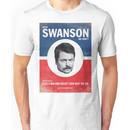 Vote For Ron Swanson Unisex T-Shirt